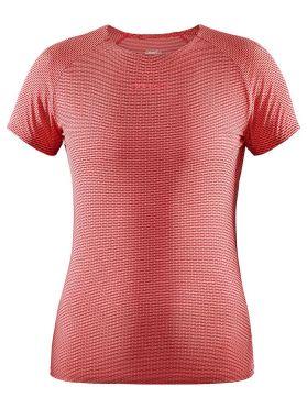 Craft Pro Dry Nanoweight korte mouw ondershirt roze dames