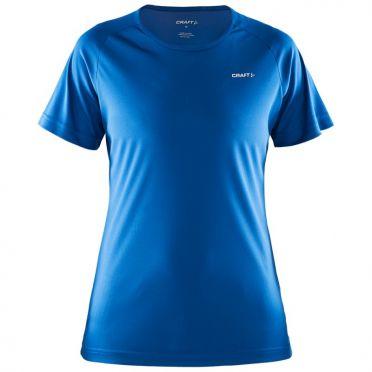 Craft Prime korte mouw hardloopshirt blauw dames