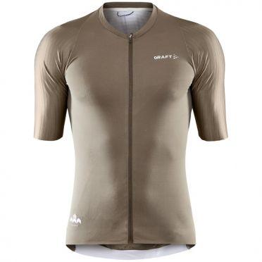 Craft Pro Aero fietsshirt SS bruin heren