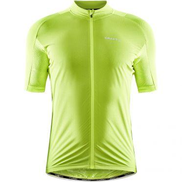Craft Pro Endurance Lumen fietsshirt SS geel heren