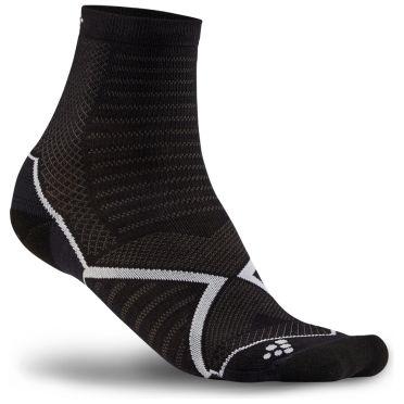 Craft Run Warm Sokken zwart/wit