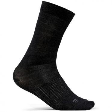 Craft Wool Liner Mid Sokken Zwart 2-Pack