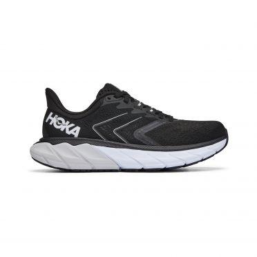 Hoka One One Arahi 5 hardloopschoenen zwart/wit dames