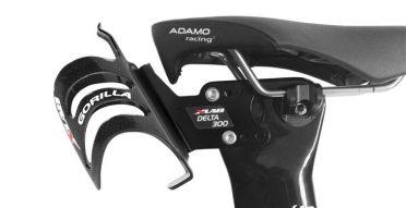 XLAB Delta 300 zadel bidonhouder zwart voor Cervelo fietsen