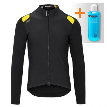 Assos Equipe RS spring fall jacket zwart heren