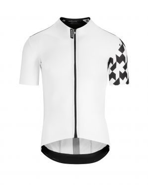 Assos Equipe RS Aero korte mouw fietsshirt wit heren