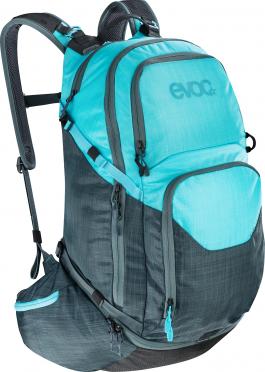 Evoc Explorer pro 30 liter rugzak slate-neon blue