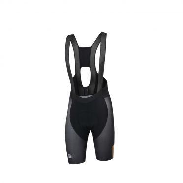 Sportful Bodyfit pro air bibshort zwart/goud heren