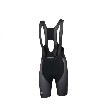 Sportful Bodyfit pro air bibshort zwart/grijs heren