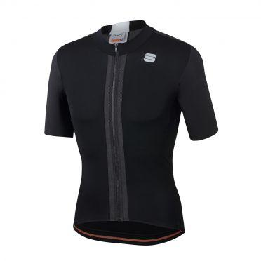 Sportful Strike fietsshirt korte mouwen zwart heren