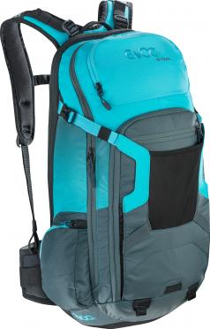 Evoc FR trail 20 liter rugzak slate-neon blue