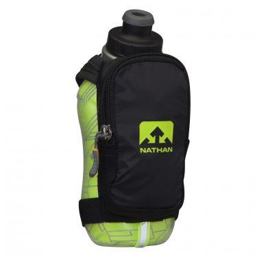Nathan SpeedShot plus insulated drinkfles groen/zwart