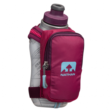 Nathan SpeedShot plus insulated drinkfles roze