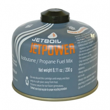 Jetboil Jetpower gascartridge 230 gram