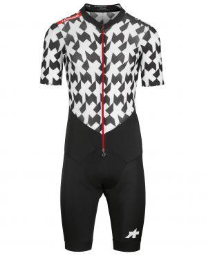 Assos S9 LeHoudini RS Aero RoadSuit zwart/wit heren