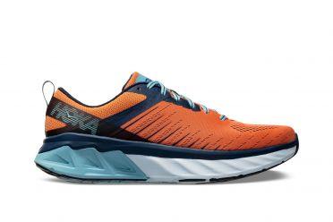 Hoka One One Arahi 3 hardloopschoenen oranje/blauw heren