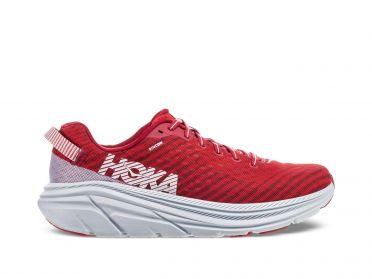 Hoka One One Rincon hardloopschoenen rood/wit heren