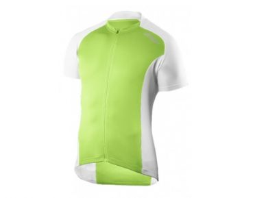 2XU fietsshirt Active Cycle Jersey groen wit MC2295