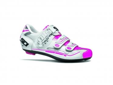 Sidi Genius 7 raceschoen wit/roze dames