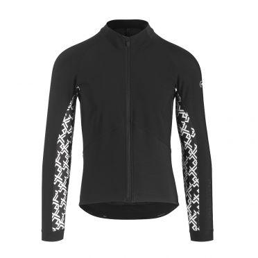 Assos Mille GT spring fall lange mouw jacket zwart heren
