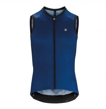 6d62982acc1ad9 Assos Mille GT NS mouwloos Fietsshirt blauw heren