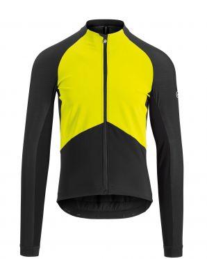 Assos Mille GT spring fall lange mouw jacket fluo geel heren