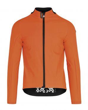 Assos Mille GT Ultraz winter EVO fietsjack oranje heren