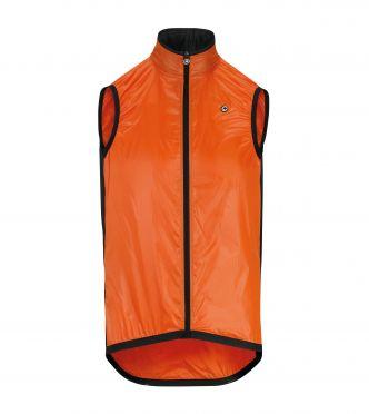 Assos Mille GT wind vest fietsjack rood heren
