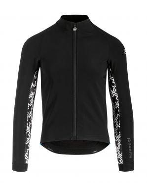 Assos Mille GT winter lange mouw jacket zwart heren