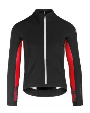 Assos Mille GT winter lange mouw jacket zwart/rood heren