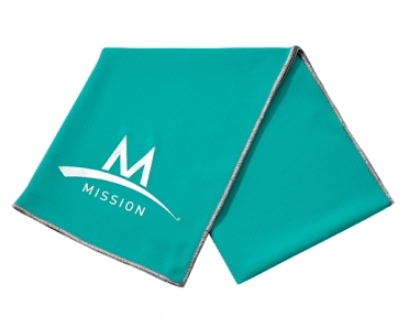 Mission Enduracool Tech Knit Towel mint sport