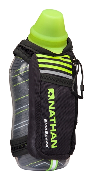 Nathan IceSpeed™ Insulated Handheld - Black Safety Yellow