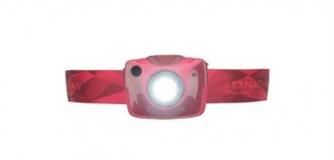 Nathan Nebula Fire hoofdlamp rood