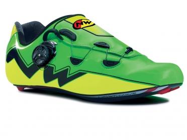 Northwave Extreme aero raceschoenen groen-fluo/geel-fluo heren