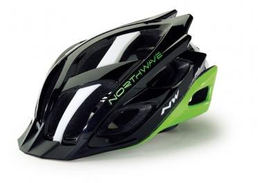 Northwave Storm MTB helm zwart/groen/wit heren