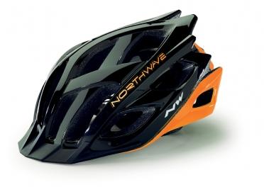 Northwave Storm MTB helm zwart/oranje-fluo heren