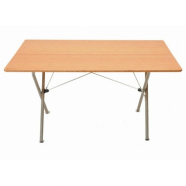 Snow Peak Garden Single Action Table Long Bamboo (LV-015G)