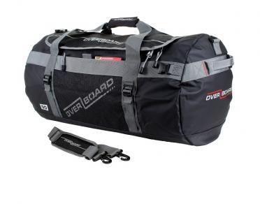 Overboard Adventure Duffel Bag zwart - 90 liter