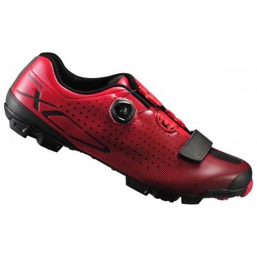 Shimano mountainbikeschoen XC700 rood