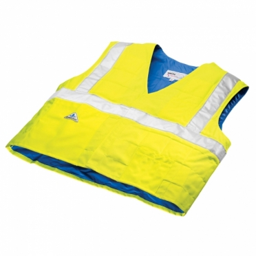 TechNiche HyperKewl evaporative cooling vest safety geel