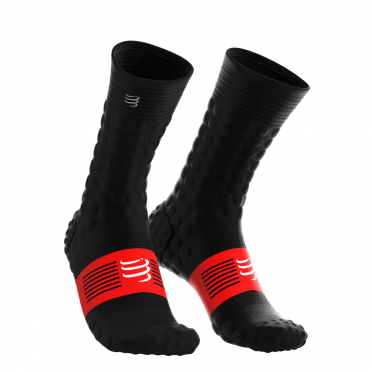 Compressport Pro Racing V3.0 winter hardloopsokken zwart