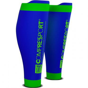 Compressport R2 v2 compressie tubes blauw