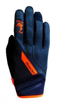 Roeckl Renon winter fietshandschoenen zwart/oranje unisex