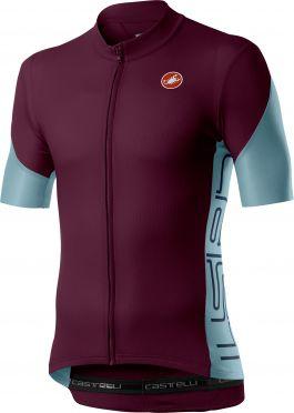 Castelli Entrata V korte mouw fietsshirt rood heren