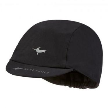 Sealskinz Windproof all weather fiets cap zwart