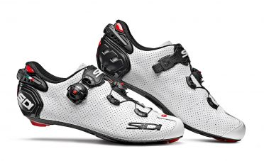 Sidi wire 2 carbon air raceschoen wit/zwart heren