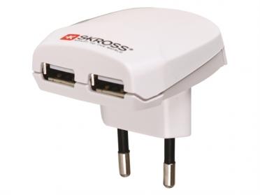 SKROSS Euro USB-oplader