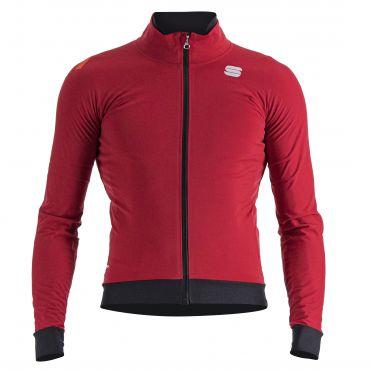 Sportful Fiandre pro lange mouw jacket rood heren