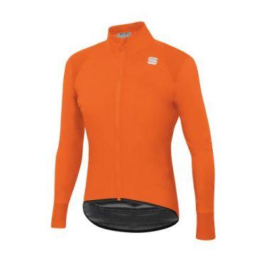 Sportful Hot pack no rain fietsjas lange mouw oranje heren