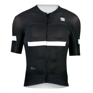 Sportful Evo fietsshirt korte mouwen zwart heren